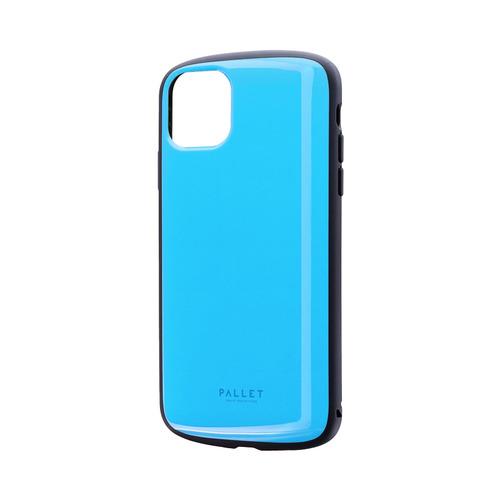 在庫あり 14時までの注文で当日出荷可能 MSソリューションズ LP-IL19PLABL スカイブルー セール特別価格 iPhone 耐衝撃ケース Max用 セットアップ PALLET Pro 11 AIR
