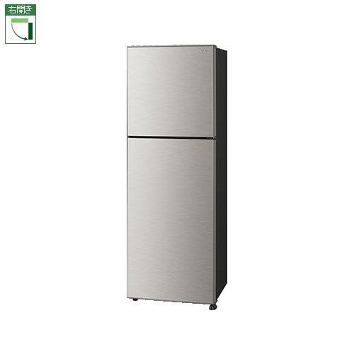 【標準設置料金込】シャープ SJ-D23E-S(シルバー系) 2ドア冷蔵庫 右開き 225L[代引・リボ・分割・ボーナス払い不可]