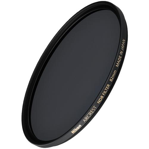 ついに再販開始 在庫あり 14時までの注文で当日出荷可能 ニコン ARCREST 82mm FILTER 世界の人気ブランド ND8