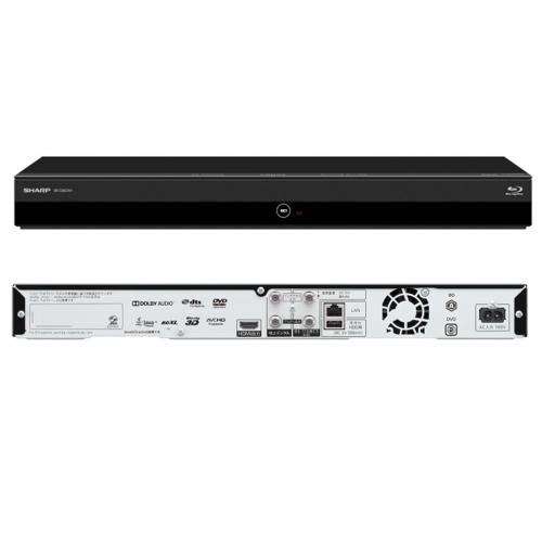 【長期保証付】シャープ 2B-C05CW1 AQUOS ブルーレイディスクレコーダー ダブルチューナー 500GB