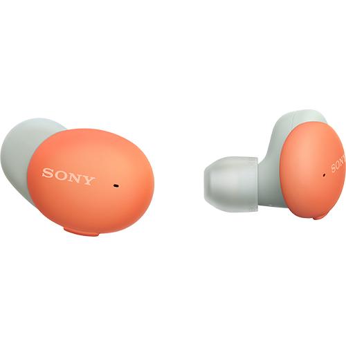【長期保証付】ソニー WF-H800D(オレンジ) ワイヤレスステレオヘッドセット