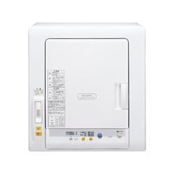 【長期保証付】シャープ KD-55F-W(ホワイト) 衣類乾燥機 5.5kg 除湿タイプ
