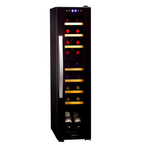 【長期保証付】デバイスタイル DCF-C18W ツインルーム18本用ワインセラー コンプレッサー式