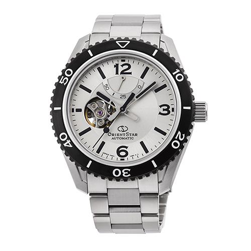 【長期保証付】オリエント RK-AT0107S(シルバー) オリエントスター 自動巻き(手巻き付き) 腕時計(メンズ)