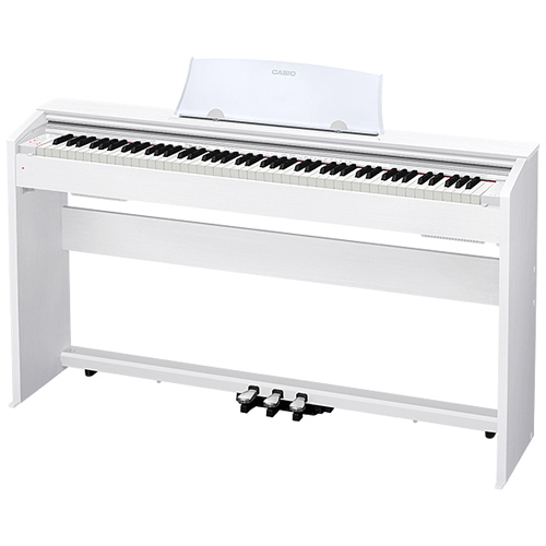 CASIO PX-770-WE(ホワイトウッド調) Privia(プリヴィア) 電子ピアノ 88鍵盤