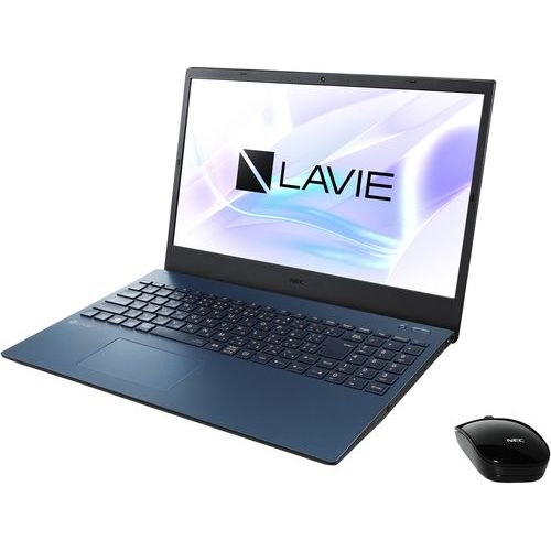 在庫あり 14時までの注文で当日出荷可能 長期保証付 NEC 割り引き PC-N1535AAL 今だけスーパーセール限定 ネイビーブルー LAVIE 4GB N15 Ryzen 3 Office 15.6型 256GB