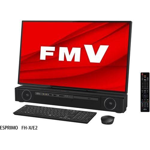 柔らかな質感の 【長期保証付】富士通 FMVFXE2B(オーシャンブラック) FMV ESPRIMO FH 27.0型 4K/Core i7/8GB/16GB+256GB+3TB/Office, 大分市 52e4d14a
