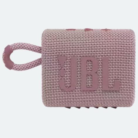 在庫あり 14時までの注文で当日出荷可能 JBL GO3 ピンク 送料無料 ポータブルウォータープルーフスピーカー お洒落 PINK Bluetooth対応