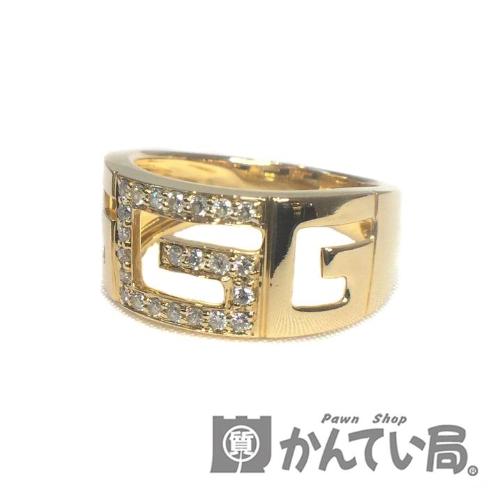 送料無料 中古 K18 ダイヤモンド 0.20ct リング 指輪 専門店 約12号 Gデザイン レディース 18金 ジュエリー ダイヤ USED-AB ゴールド イエローゴールド 人気ブランド多数対象 プレゼント