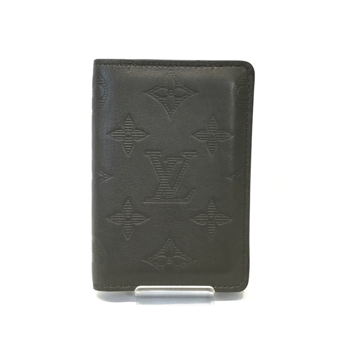 情熱セール 中古 LOUIS VUITTON ルイヴィトン 特価品コーナー☆ M68322 ドポッシュ 名刺入れ USED-SA オーガナイザー カードケース