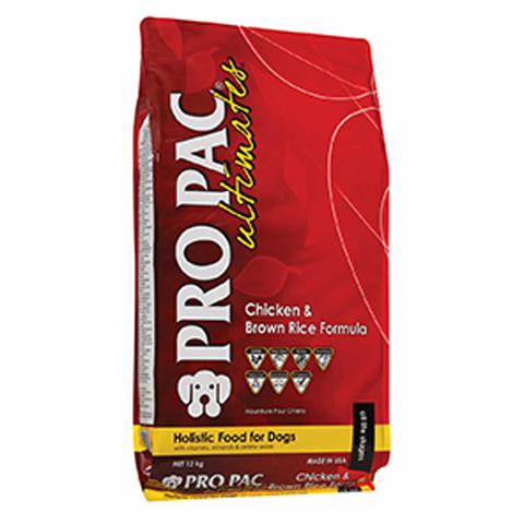 【送料無料】【成犬用】ホリスティックドッグフード【PROPAC Ultimat】アダルト チキン&玄米 12kg(プロパック アルテイメット)