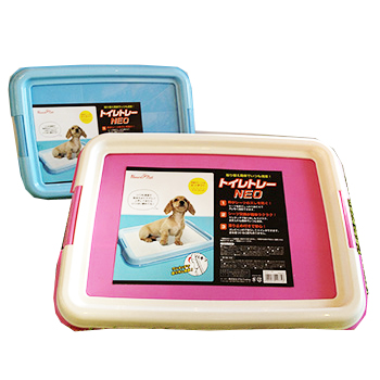 爆安 最安値挑戦商品 ペット用トイレトレーNEO レギュラーサイズ用 ブルー 選べる2色 全商品オープニング価格 ピンク