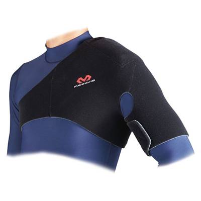 【肩関節全体をしっかり圧迫・保護 マクダビッド 肩サポーター ハードサポート】McDavid ショルダーサポート(左右両肩兼用) M462