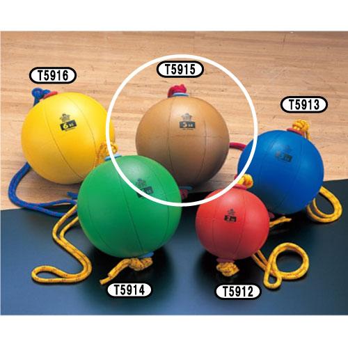 【ニシ トレーニング用品 スウィングメディシンボール T5915 ブラウン】t5915 swing medicine 5kg