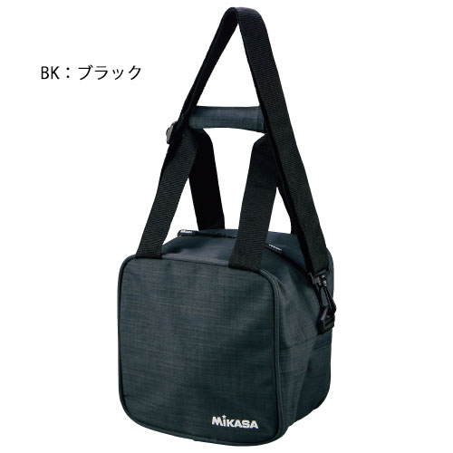 ミカサ ボールバッグ バレーボール サッカーボールバッグ 1個用 初売り 1800 AC-BGM10 BK 新作販売 mikasa W