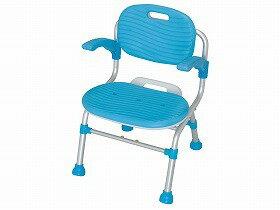 幸和製作所 折りたたみシャワーチェア テイコブSCU01(肘掛け付) SCU01 送料無料[介護 ケア サポート 介護用品 通販 風呂 折りたたみ 椅子 いす]