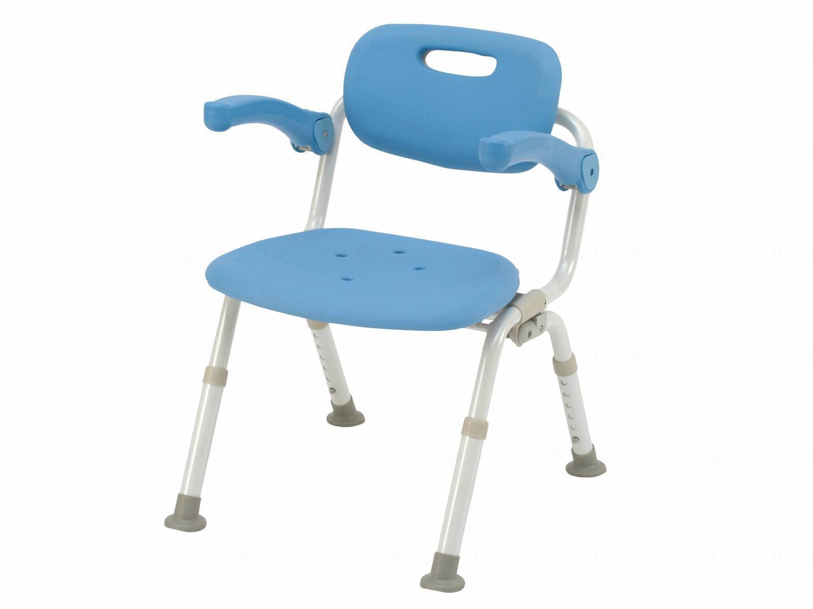 パナソニックエイジフリーシャワーチェア ユクリアミドルSPおりたたみNオレンジ・ブルー・モカブラウンPN-L41721D・PN-L41721A ・PN-L41721BR[介護 ケア サポート 介護用品 通販 風呂 椅子 いす]
