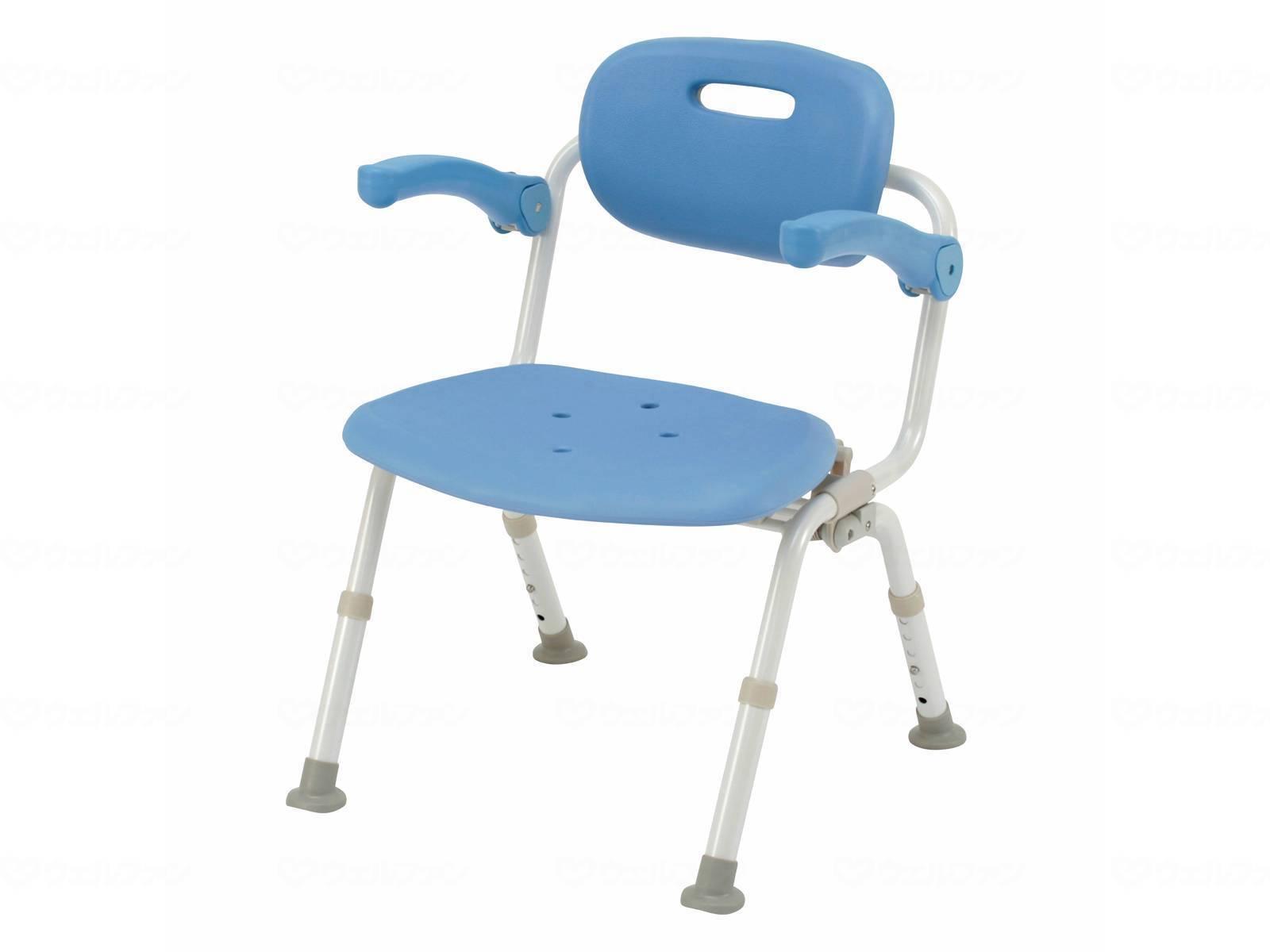 パナソニックエイジフリーシャワーチェア ユクリアワイドSPワンタッチおりたたみNオレンジ・ブルー・モカブラウンPN-L41521D・PN-L41521A・PN-L41521BR[介護 ケア サポート 介護用品 通販 風呂 椅子 いす]