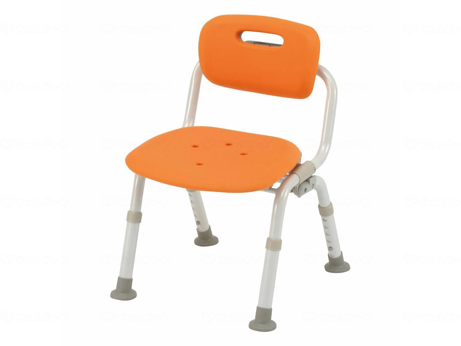 パナソニックエイジフリーシャワーチェア ユクリアコンパクト おりたたみNPN-L40721D(オレンジ)・PN-L40721A(ブルー)・PN-L40721BR(モカブラウン)[介護 ケア サポート 介護用品 通販 風呂 椅子 いす]
