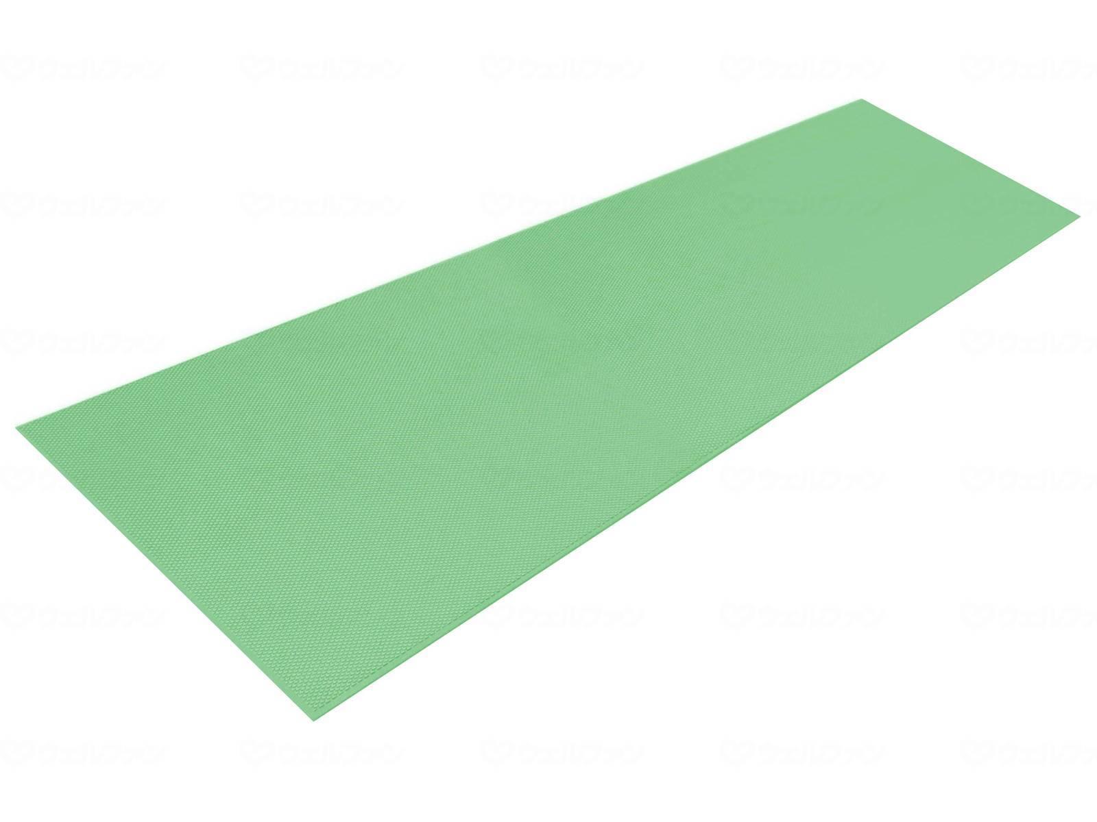 シンエイテクノ ダイヤロングマット SL1.5ブルー・グリーン幅50cm×長さ150cm 厚さ3mm [滑り止め バリアフリー 介護]
