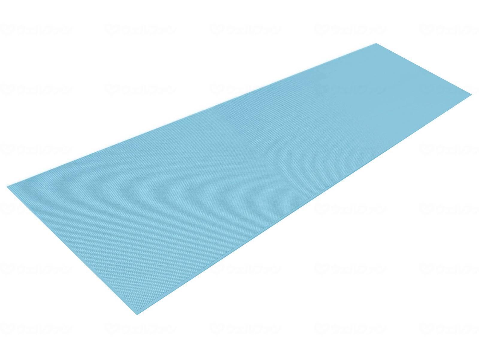日本一すべらない長尺すべり止めマット シンエイテクノ ダイヤロングマット SL2ブルー・グリーン幅50cm×長さ200cm 厚さ3mm [滑り止め バリアフリー 介護]