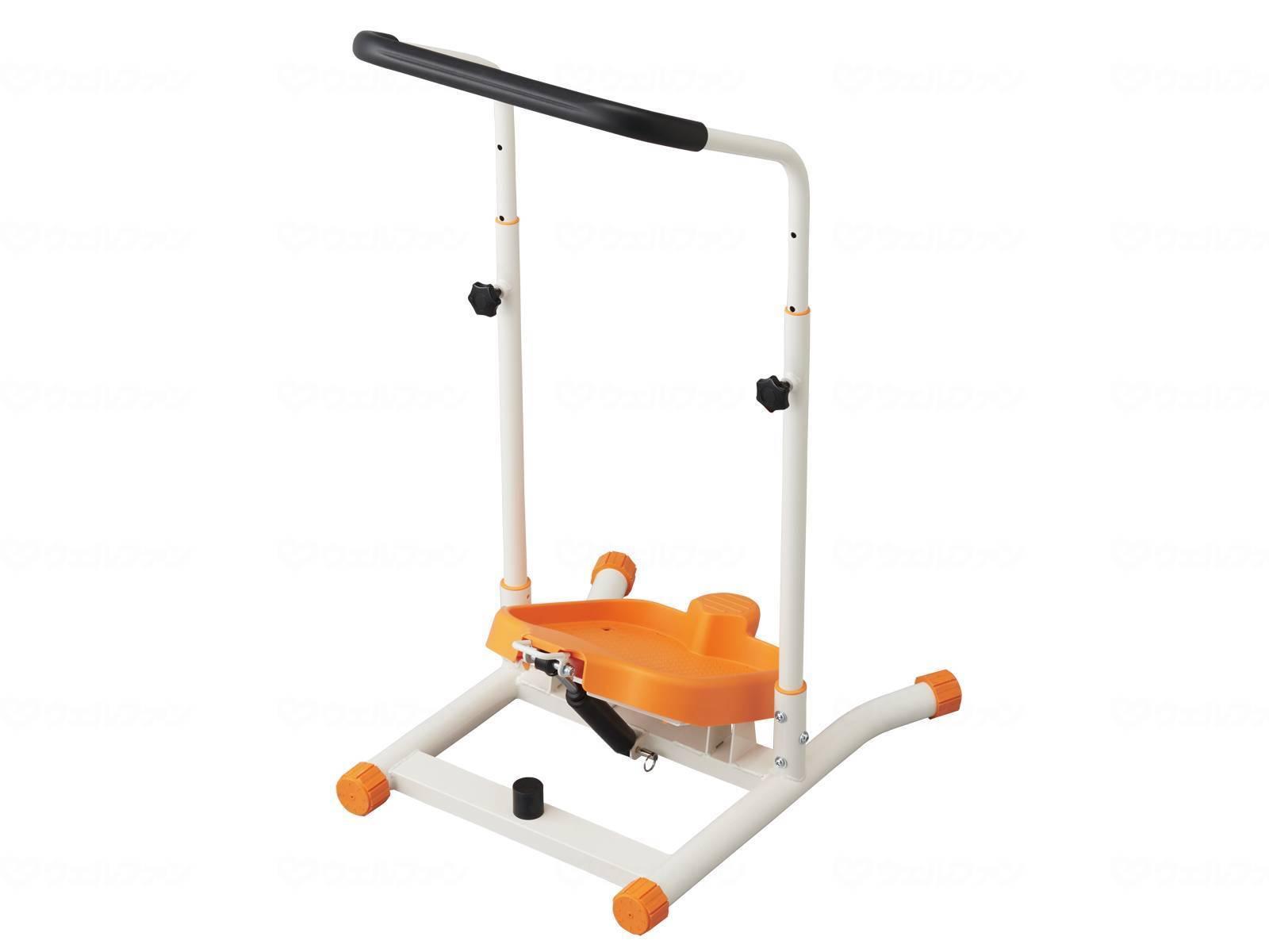 ウェルファン ハンドル付きストレッチボード楽々のびのび施設用/リハビリ/トレーニング/機能訓練筋力向上/持久力アップ/簡単/ステップ
