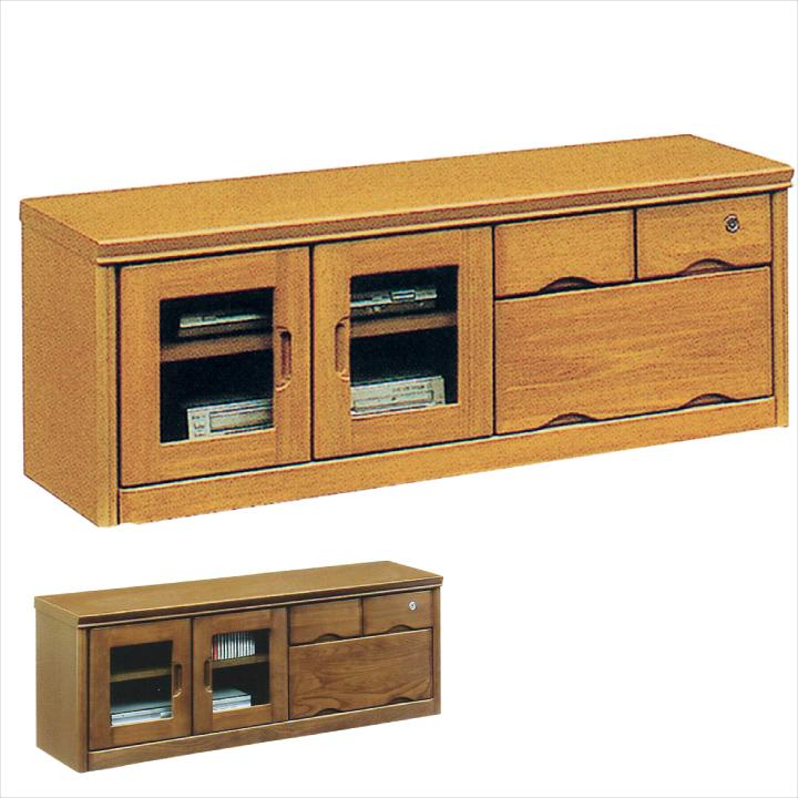 テレビ台 テレビボード TV台 TVボード 幅120 木製 ナチュラル ブラウン 北欧 モダン おしゃれ シンプル 引出し 鍵付 ローボード リビング収納 開き扉 AV収納 通販 送料無料