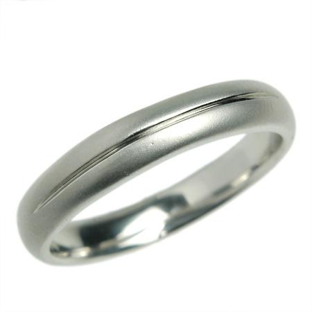K18 18金 リング 結婚指輪 マリッジリング サルビア