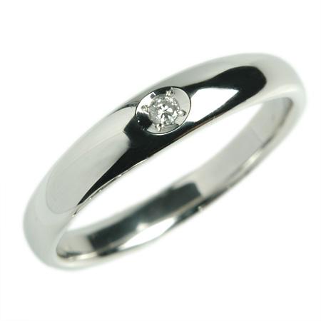 K18 18金 リング 結婚指輪 マリッジリング サイネリアダイヤ