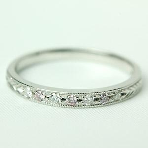 K18 ダイヤモンドリング 天然ピンクダイヤモンド × ダイヤモンド 『ドルチェ ピンク』 18金 リング ピンクゴールド・ホワイトゴールド・イエローゴールド・プラチナ リング