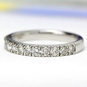 プラチナ リング エタニティダイヤモンドリング 0.5ct【送料無料】