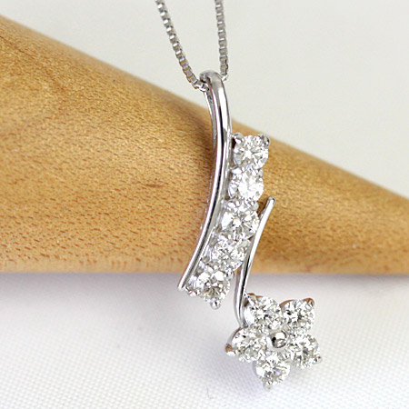 K18 ダイヤモンド ネックレス 0.5ct 10石 スイートテンダイヤネックレス スイート10 記念日 誕生日 結婚記念日 アニバーサリー 10th プレゼント