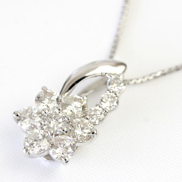 10th 結婚記念日 ダイヤモンド 45cm ネックレス スイート10 アニバーサリー ダイヤモンド 誕生日 プレゼント スイートテンダイヤネックレス 10石 ベネチアン 1ct 記念日 1カラット Pt900