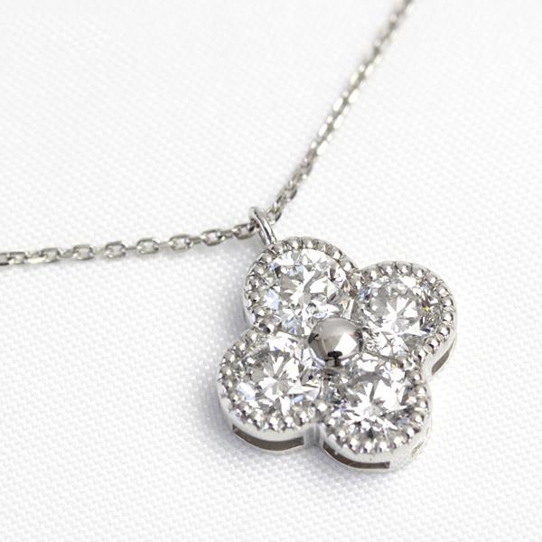 K18 ダイヤモンド 1.0ct ペンダント ネックレス