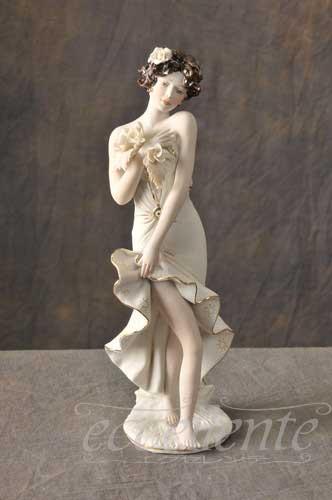 SV-2340L イタリア製 陶人形 Lady Beauty