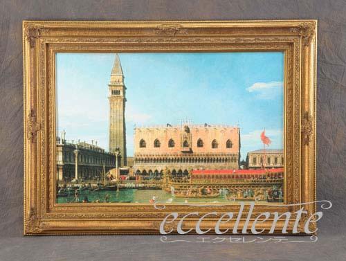 804417136 イタリア製 額絵大 ドゥカーレ宮殿2