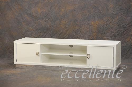 RO-PTV02BI イタリア製 TVボード Roma White