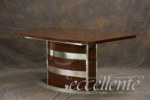 【期間限定お試し価格】 RO-TAV05NS イタリア製 ダイニングテーブル 伸長式(160+45) Roma Walnut, えびとチーズの専門店 しまひで 85260a4f