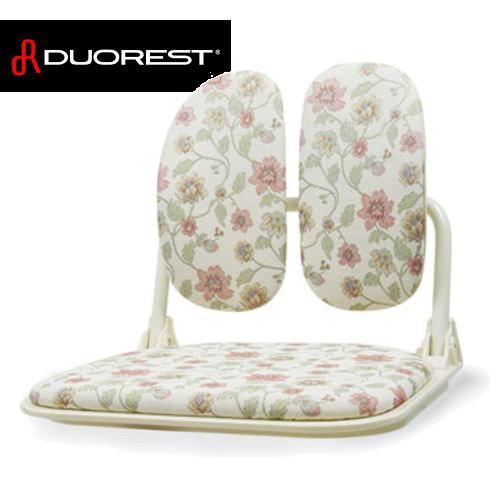 【送料無料】DUOREST デュオレスト さりげなく栄える優雅なフォルム DR-920T(花柄) 座椅子 DR920T-3FEG1【※メーカー直送/代引不可】【AS】