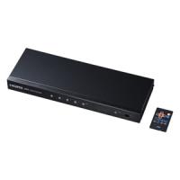 SANWA SUPPLY サンワサプライ HDMI機器4台の映像 音声を切り替えて2台のハイビジョンテレビやプロジェクターなどに分配出力できるHDMI切替器 ARC機能 光 同軸デジタル出力にも対応 SW-HD42ASP SWHD42ASP