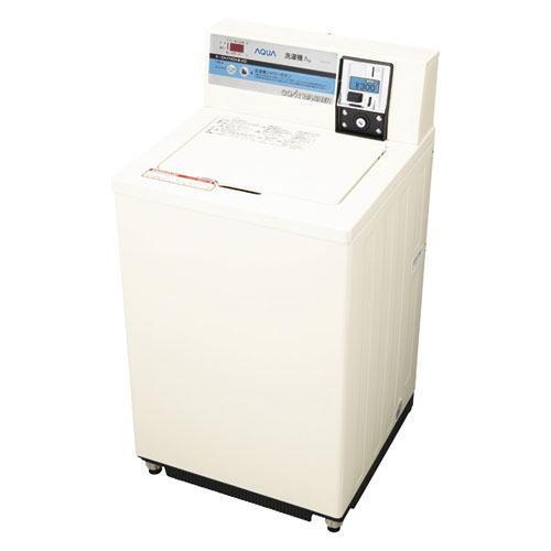 【送料無料】HaierAQUA ハイアールアクア 7.0kg 価格設定切替コイン式 業務用全自動洗濯機 MCW-C70(W-パールホワイト) MCWC70-W【配送のみ/設置不可】※メーカー直送商品につき、代金引換のご注文はお受け出来ません。