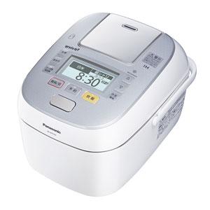 【送料無料】PANASONIC パナソニック Wおどり炊き スチーム&可変圧力IHジャー炊飯器 5.5合炊き SR-SPX105(W-スノークリスタルホワイト)SRSPX105-W