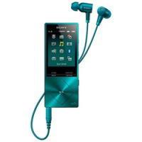【送料無料】SONY ソニー ウォークマン Aシリーズ メモリータイプ 16GB ハイレゾ対応NCイヤホン同梱 デジタルオーディオプレーヤー NW-A25HN(L-ビリジアンブルー) NWA25HN-L