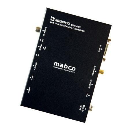 【お取り寄せ商品】ADTECHNO エーディテクノ 映像信号をスケーリング変換する業務用スキャンコンバータ VGA→HDMIコンバータ USC-007 USC007