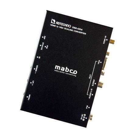 【お取り寄せ商品】ADTECHNO エーディテクノ 映像信号をスケーリング変換する業務用スキャンコンバータ HDMI→VGAコンバータ DSE-004 DSE004【スーパーSALE】