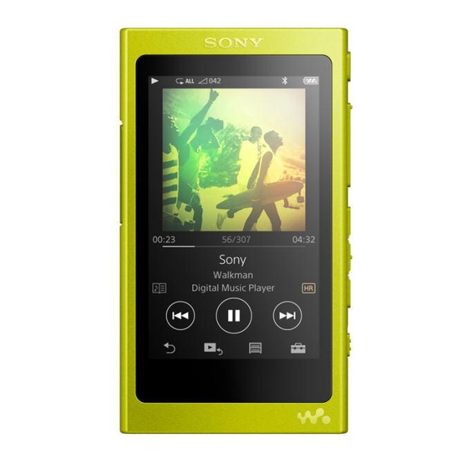 【送料無料】SONY ソニー タッチパネルを搭載したハイレゾウォークマン Aシリーズ メモリータイプ 16GB ポータブルオーディオプレーヤー NW-A35(Y-ライムイエロー) NWA35Y【スーパーSALE】