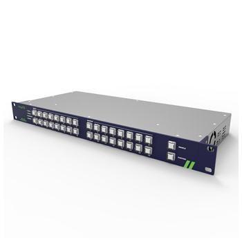 【お取り寄せ商品】【受注生産品】【送料無料】ADTECHNO エーディテクノ 3G-SDI対応ルーティングスイッチャー 16入力16出力モデル RS 16X16