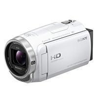 【送料無料】SONY ソニー ビデオカメラ 空間光学式手ブレ補正機能搭載 64GBメモリー Wi-Fi搭載 デジタルHDハンディカム HDR-CX680(W-ホワイト) HDRCX680-W