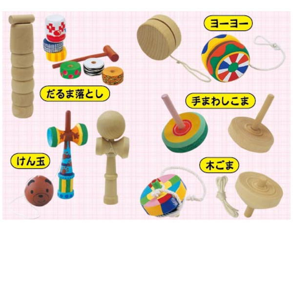 【送料無料】手作りキット お祭りにイベントに みんなで楽しく作ろう! 伝統のおもちゃキットです 100個入り 木製おもちゃ作り
