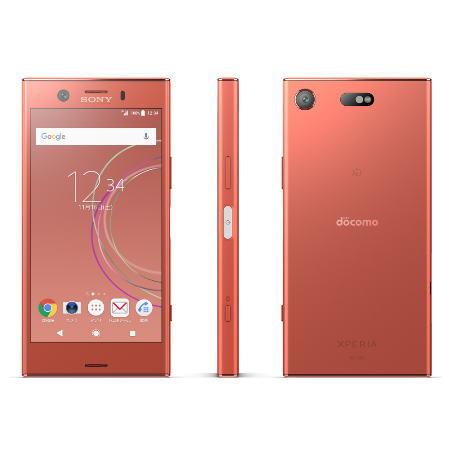 【お取り寄せ商品】【送料無料】【国内正規品】docomo SIMフリースマートフォン(白ロム)Xperia XZ1 Compact SO-02Kセット(トワイライトピンク)